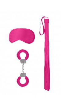 Розовый набор для бондажа Introductory Bondage Kit №1