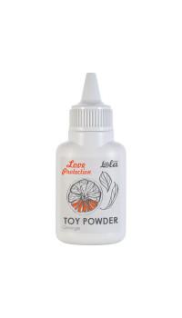 Пудра для игрушек с ароматом апельсина Orange - 15 гр.