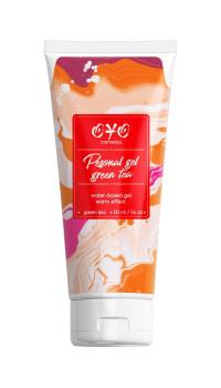 Интимная смазка на водной основе с согревающим эффектом OYO Personal Gel Green Tea - 50 мл.
