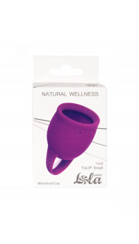 Лиловая менструальная чаша Tulip - 15 мл.